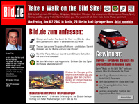 Take a Walk on the Bild Site